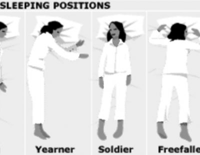 How do you sleep? Positions