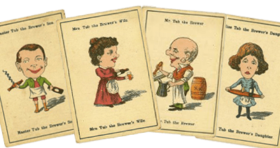 Happy Families - Different drinking habits