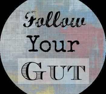 Follow Your Gut Sticker
