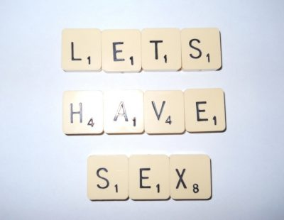 Let's Have Sex Scrabble Tiles