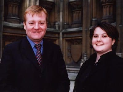 Laura with Charles Kennedy