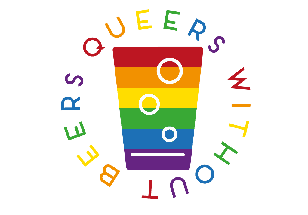 Queers Without Beers logo