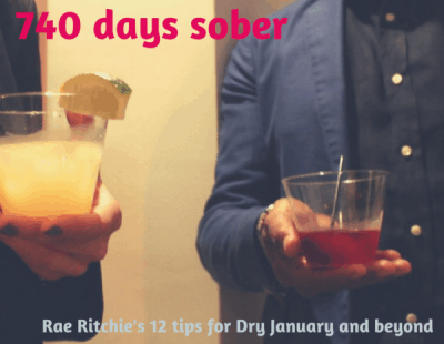 Rae Ritchie 740 days sober