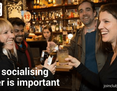 Why socialising sober is important