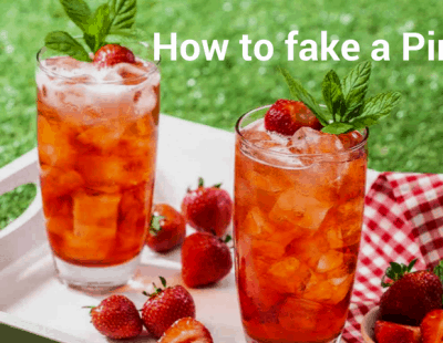 How to fake an alcohol-free Pimms