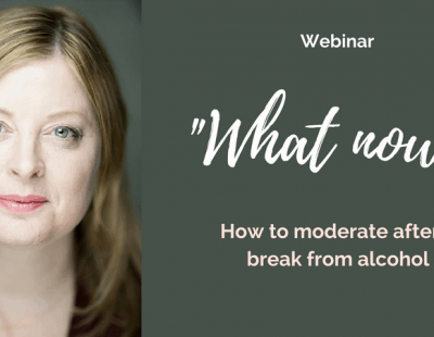 Helen O'Connor webinar: carry on or can you moderate?