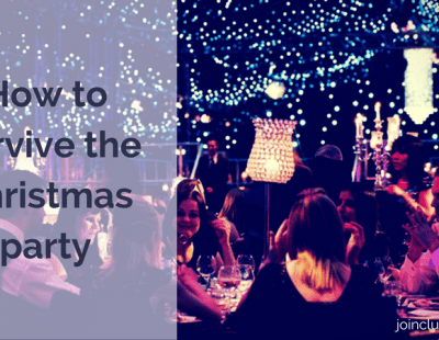 How to survive the Christmas party