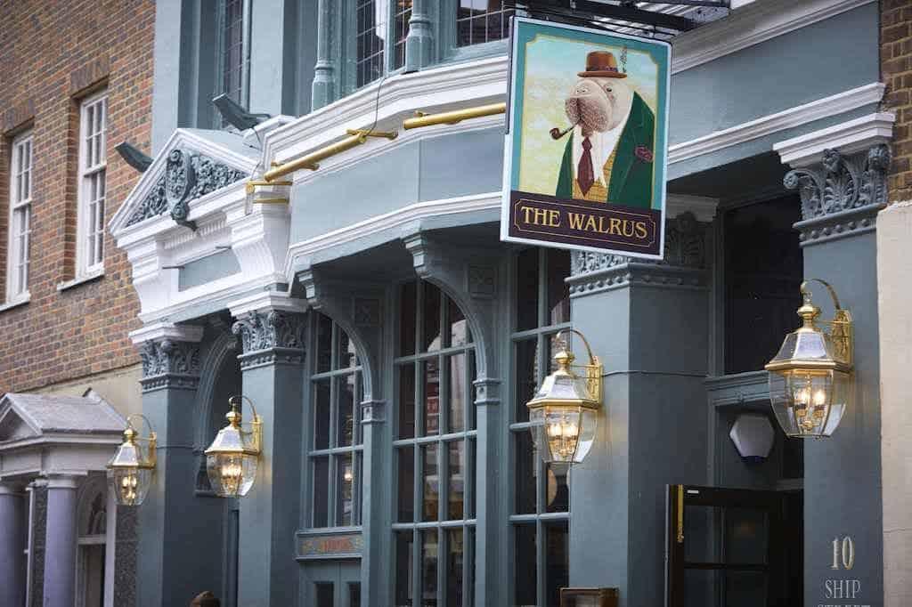 The Walrus pub