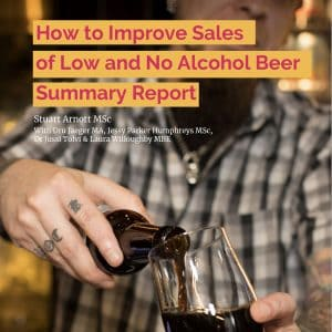 Low and no alcohol beer sales summary