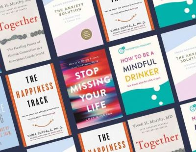 6 books to help you handle big emotions and live well during lockdown.