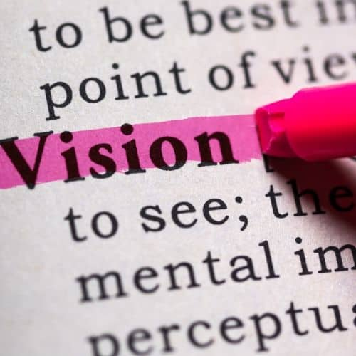 Vision: To recover we need a vision that is bigger than our addiction