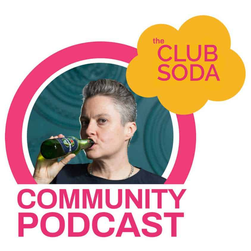 Club Soda podcast logo