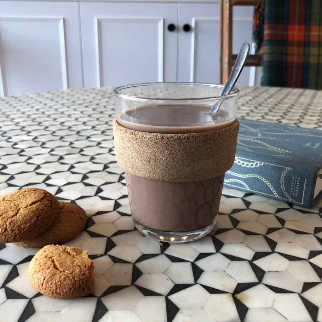 Fake Baileys hot chocolate