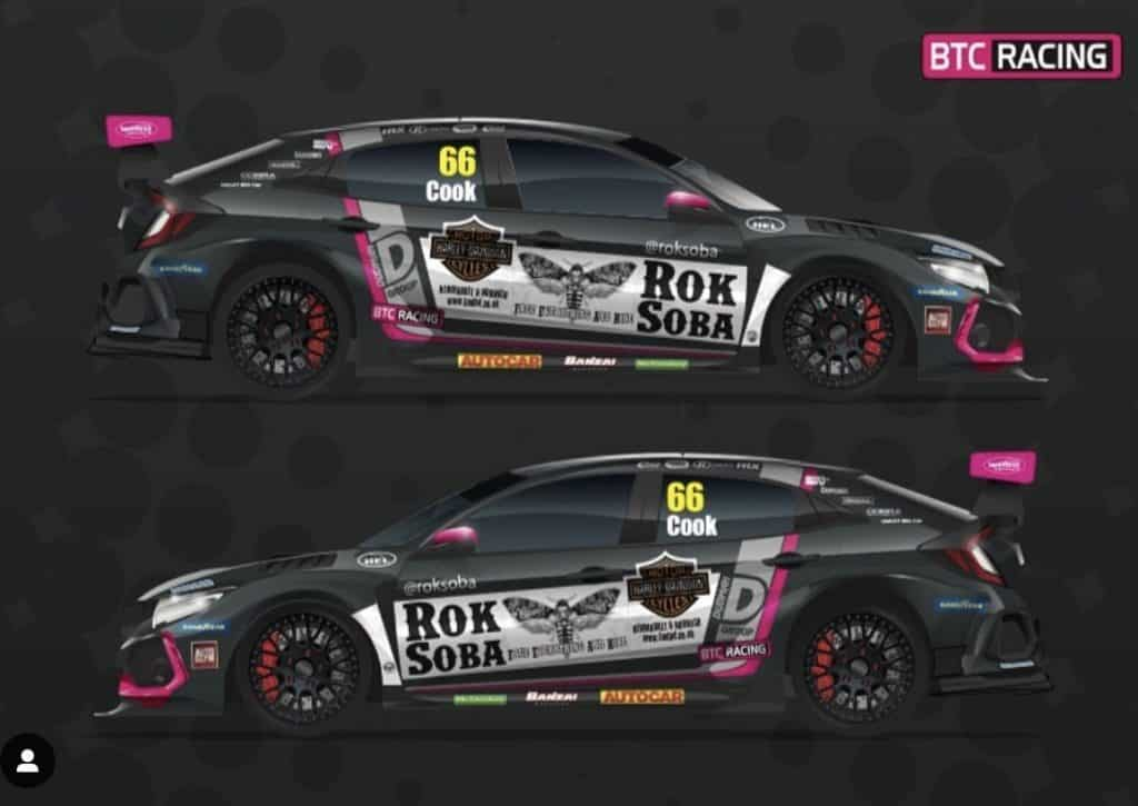 Rok Soba at BTC Racing