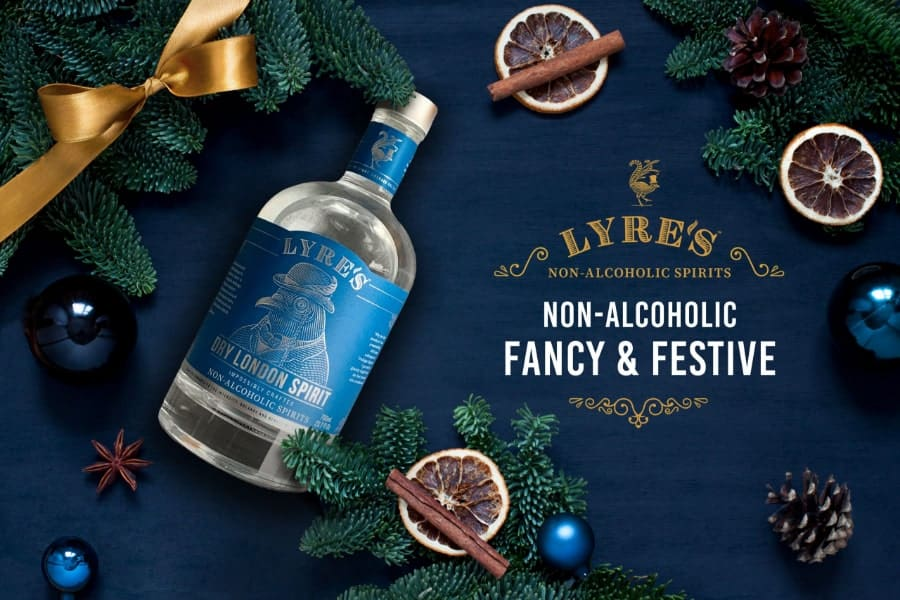 Lyre's Christmas non-alcoholic spirits