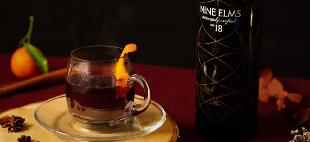 Nine Elms alcohol-free mulled wine