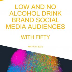 Social media audiences of low and no alcohol drink brands