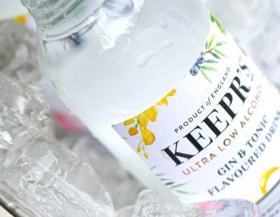 Keepr's ultra low alcohol gin & tonic